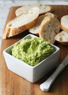 Edamame Spread  3 cups frozen shelled edamame  1 garlic clove, minced  3 scallions, thinly sliced  1 lemon, zested and juiced  ¼ to ⅓ cup extra-virgin olive oil  Salt and pepper, to taste