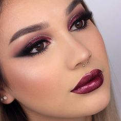 """7,257 Likes, 18 Comments - NABLA Cosmetics (@nablacosmetics) on Instagram: """"@byjeannine is our ultimate crush She looks fabulous in this sultry look, finely framed using our…"""""""