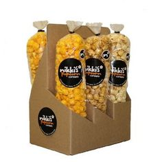 6 Pack Popcorn Sampler