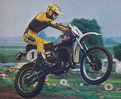 Mx Racing, Motorcycle Dirt Bike, Off Road Racing, Moto Bike, Motocross Love, Motocross Riders, Vintage Motocross, Old Scool, Old Motorcycles