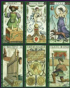Tarot of the Master - Facsimile 1893 Giovanni Vachetta - 2002
