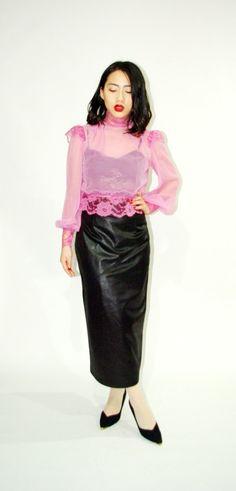vintage sheer blouse - Bing Bilder