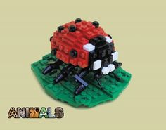 Animals: Ladybug: A LEGO® creation by Joshua Christenson : MOCpages.com