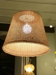 MIMBRE VELA COLGANTE LAMP