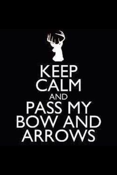 Keep Calm?!! LOL I see antlers and I forget to breathe!