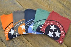 - 100% Super Soft Peruvian Cotton - This run of shirts fit a bit larger. Questions about sizing? Check here Sizing Chart - Front Pocket features a Tristar and Volunteer Traditions, Back....same thing