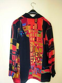 silk painted shirt2 | Flickr - Photo Sharing!