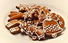 Bezlepkové perníčky Xmas Cookies, Gingerbread Cookies, Celiac, Christmas Baking, Ham, Gluten Free, Cooking, Desserts, Traditional