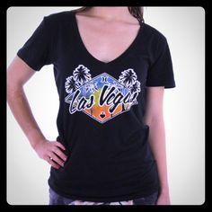 Hurley Las Vegas ♠️ Tee ♦️ BNWT - Women's Size Small Hurley Tops Tees - Short Sleeve