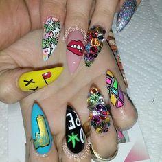 Bang bang! These are too dope! @nailsbyraybaby