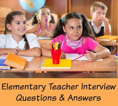 Prepare for these top 10 interview questions you are likely to be asked in your teaching interview. Use the excellent interview answer guidelines to prepare winning responses. Get the teacher job you want. Teacher Interview Questions, Teaching Interview, Teacher Interviews, Interview Questions And Answers, Interview Advice, Elementary Science, Elementary Teacher, Elementary Education, Jobs For Teachers