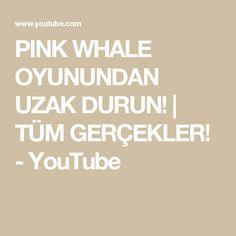 PINK WHALE OYUNUNDAN UZAK DURUN! | TÜM GERÇEKLER! - YouTube