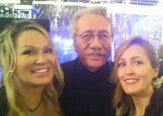Lisa Christiansen, Edward James Almos, and Cali Rossen  Thank you Heavenly Father God, Nadine my beautiful publicist and Chris for breathing life into this little girls dreams... Because of you this child of God from Tahlequah who now fully participates in what was once just a wish, proof that thoughts become things, if you see it in your mind and feel it with gratitude you will live your future in your present...   ~Lisa Christiansen