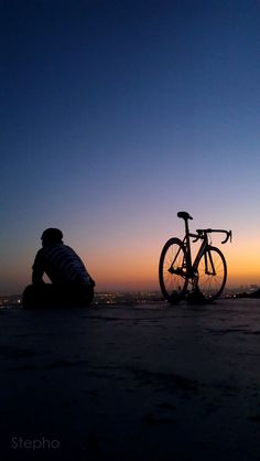 "fffixe: "" stephos-photos: "" Biking to the top of the city. "" fffixe.tumblr.com """