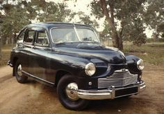 1949 Standard Vanguard Beetleback, Dads first car. I just barely remember the Vanguard and the fact that my m used to drive it but had no license.