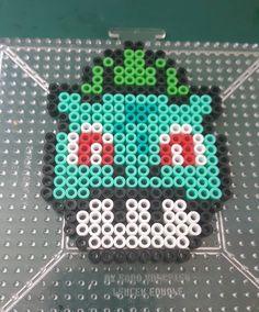 Pokemon mushroom perler beads by the_nerdy_girl_crafter