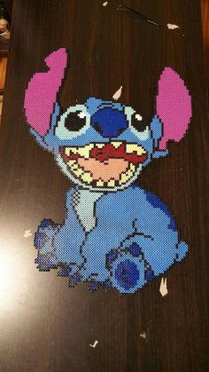 Stitch Perler Art by CustomPerlerBeadArt on Etsy