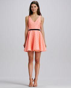 Dolce Vita Stacy Neon Tapestry Dress