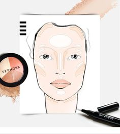 "BEAUTY DECODED: FACIAL ARCHITECTURE - ""Facial architecting"" is all the rage in beauty…but what exactly is it? Techniques like contouring, highlighting, luminizing, brightening, and lightening all use light and shadow to enhance your features, but the differences between them and their corresponding products are sometimes a bit hazy. Learn more on the Sephora Glossy>"