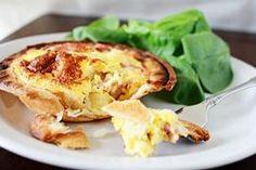 Ham & Potato Pie Maker Quiche Potato Quiche Recipe, Quiche Recipes, Potato Pie, Mini Pie Recipes, Pork Recipes, Breakfast For Dinner, Breakfast Recipes, Breakfast Ideas, Quiches