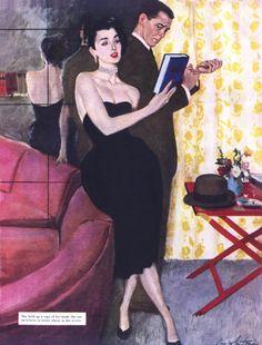 СЛАДКАЯ парочка.. / любовь, живопись, художники, двое, иллюстрация, pin up, он и она, из сети
