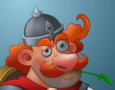 """Check out new work on my @Behance portfolio: """"Russian warrior"""" http://on.be.net/1FeMbQw"""