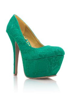 These gorgeous pumps are the epitome of girly.