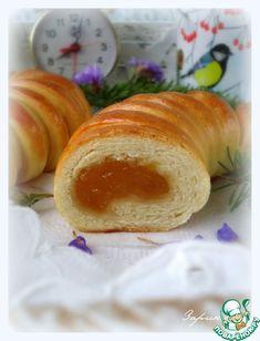 Пирог на кефире с яблочным повидлом рецепт