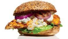 Sándwich de pollo Búfalo