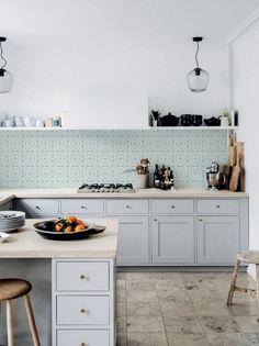Kitchenwalls keukenbehang Retro Groen