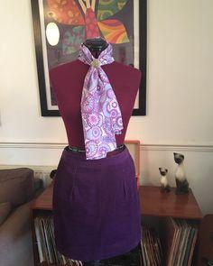 Make Time, How To Make, Corduroy, Stitching, Cool Stuff, Purple, Skirts, Fabric, Pattern