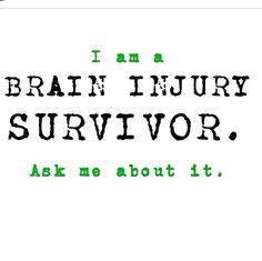 TBI survivor #loveyourbrain