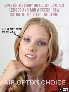 Choose a better way to wear your lenses with a fresh, new lens every day. Cosplay Contacts, Eye Doctor, Winter Beauty, Colored Contacts, Attitude, Lenses, Routine, Safety, Forget