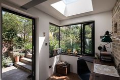 MW Architects designed this home office for a London author who wanted to have more time in his garden. (See A Light-Filled Writing Studio for a London Author.) Photograph by French + Tye. Backyard Studio, Garden Studio, Home Interior Design, Interior And Exterior, Grand Designs Magazine, Garden Home Office, Add A Room, Writing Studio, London House
