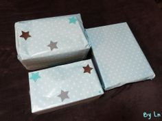 Paquets cadeaux étoiles