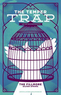 The Temper Trap – Concert Poster | ElJefe Design