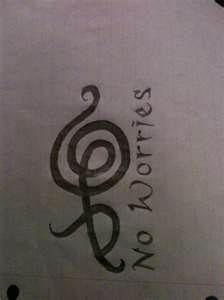 Hakuna Matata No Worries – Tattoo Picture At CheckoutMyInkcom