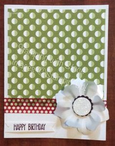 stamping with stace birthday card