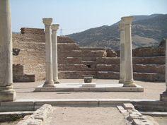 Ruinas de la basílica de San Juan Evangelista en Éfeso