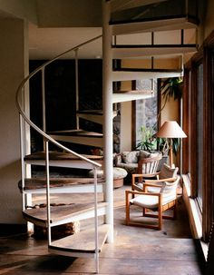 Love that staircase.