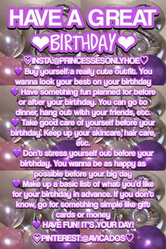 Birthday Ideas For Teens Hoe Tips 53 Ideas 13th Birthday Parties, 14th Birthday, Teen Birthday, It's Your Birthday, Birthday Bash, Birthday Presents, Happy Birthday, Girl Life Hacks, Girls Life