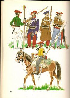 Lancer Navarra, Inf in Campaign Uniform & Lancer Mervio World Conflicts, Military Art, Victorian Era, Marines, 19th Century, Illustration, Battle, Empire, War