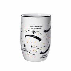 Mug enchanté - Faites un voeu en grattant les étoiles filantes - 12,95 €