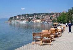Ohrid Lake, Ohrid, Macedonia One of the best places in Macedonia What A Beautiful World, Beautiful Places, Macedonia Skopje, Travel Around The World, Around The Worlds, Republic Of Macedonia, Albania, Wanderlust Travel, Great View