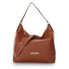 62ac90728fec23 Michael Kors Weston Pebbled Large Brown Shoulder Bags Outlet - $77.99  Fashion Trends, Fashion Design