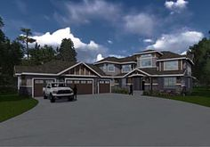 Elevation of Traditional   House Plan 81146