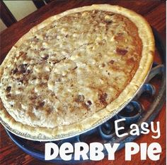 This recipe for Derby Pie is so easy. The original recipe was created at Melrose Inn in Kentucky, known for their famous desserts. My recipe for this ooey, gooey, chocolate... Read More