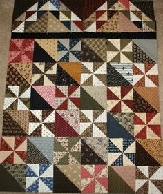 pinwheel quilt patterns | So Many Quilts, So Little Time!
