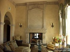 Fire places and Mantels