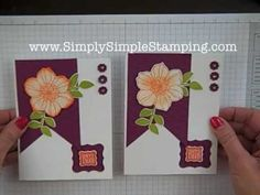 Simply Simple FLASH CARDS - Secret Garden Happy Day by Connie Stewart  SimplySimpleStamping.com